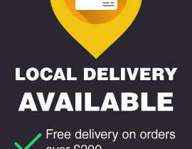zzzabc tarafından Design a local delivery banner. için no 7