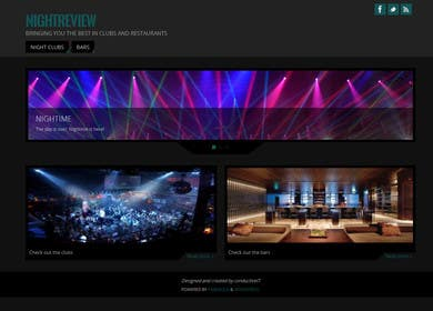 #7 for Build a Website for Bar & Nightclub Reviews by benfoulger