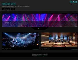 nº 7 pour Build a Website for Bar & Nightclub Reviews par benfoulger