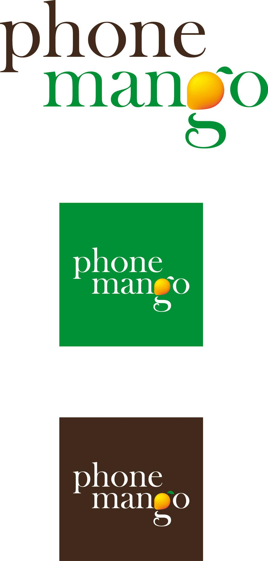 #40 for Design a Logo for Phone Mango by Mustelaerminea