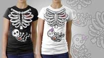 Contest Entry #4 for Pregnant Skeleton T-shirt Design