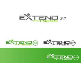 #104 for Design a Logo for Extend Fitness 24/7 af rimskik