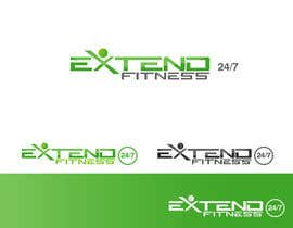 #111 for Design a Logo for Extend Fitness 24/7 by rimskik