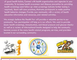 #15 untuk I need a flyer designed for a health and wellness expo oleh designerdesk26