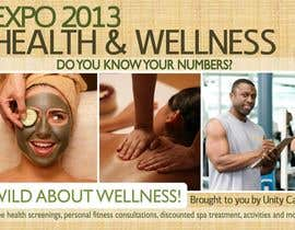 #17 para I need a flyer designed for a health and wellness expo por skoay