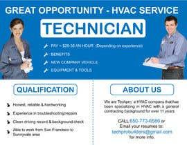 sememeh tarafından Design a Job Wanted Ad - HVAC Service Technician için no 1