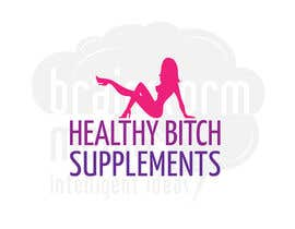 kuki2301 tarafından HEALTHY BITCH SUPPLEMENTS LOGO PACKAGE için no 45