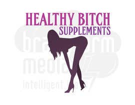 #48 untuk HEALTHY BITCH SUPPLEMENTS LOGO PACKAGE oleh kuki2301