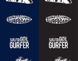 #24 for Design a T-Shirt for Girl Surfing by nitabe