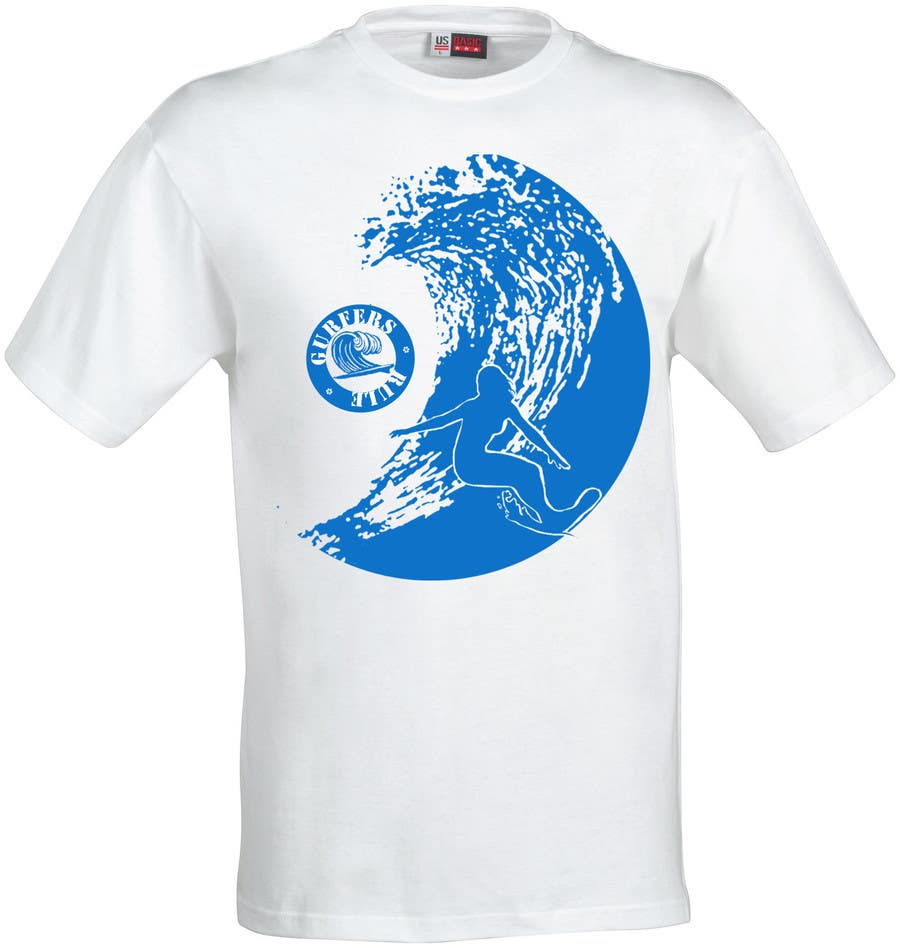 #23 for Design a T-Shirt for Girl Surfing by nihalmuhd