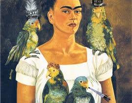 cristinajulien tarafından I need some Graphic Design - Frida Kahlo NYE için no 10