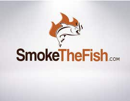 sunsetart tarafından Design a Logo for SmokeTheFish.com için no 52