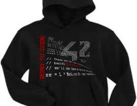 #51 for T-Shirt or Black Hoodie for new school in France : école 42 af takackrist