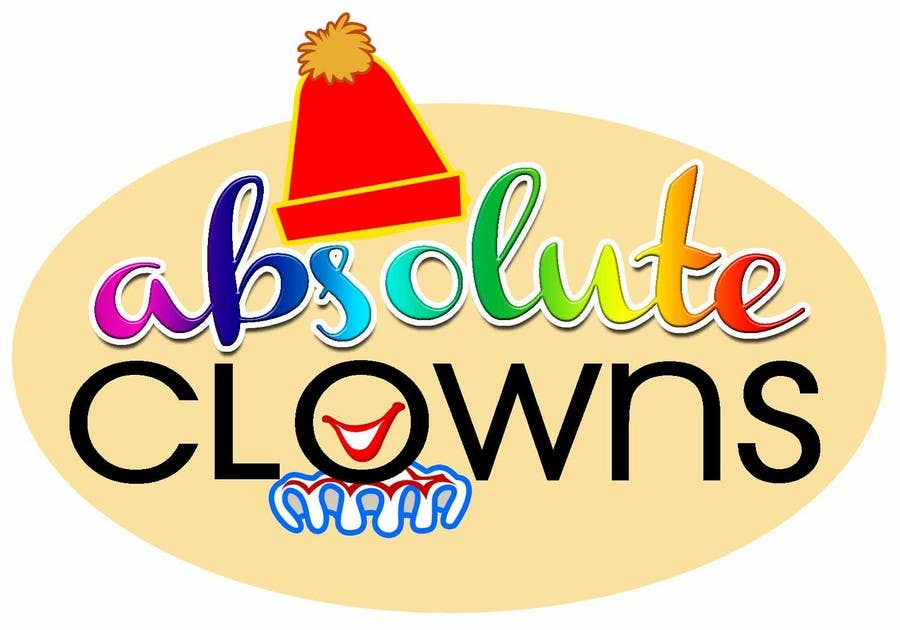 Contest Entry #                                        52                                      for                                         Graphic Design for Absolute Clowns (Australian based company located in Sydney, NSW)