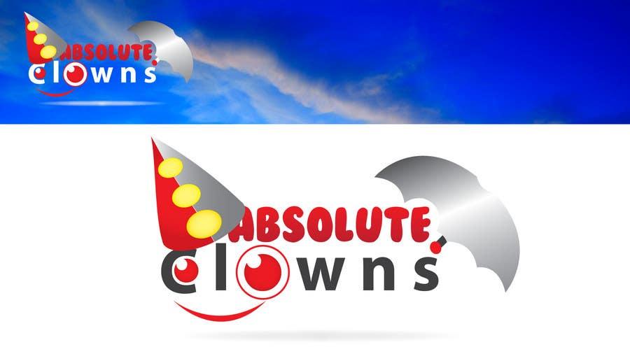 Penyertaan Peraduan #                                        104                                      untuk                                         Graphic Design for Absolute Clowns (Australian based company located in Sydney, NSW)