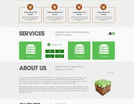 #12 untuk Design a Website for www.creeperhost.net oleh timid