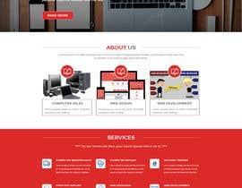 Nro 11 kilpailuun Design a Website Mockup käyttäjältä husainmill