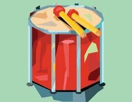 Nro 21 kilpailuun I need some Graphic Design: Stylsed Drum käyttäjältä farkasbenj