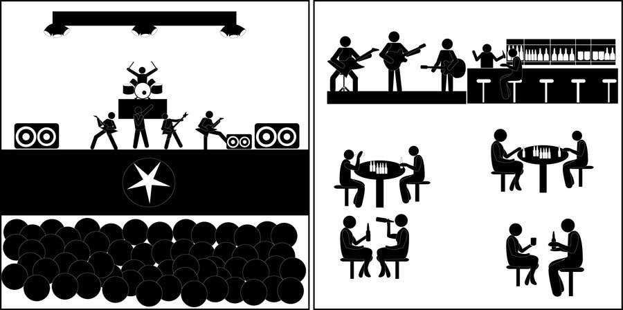 #8 for 10 pictograms in black and white by jaclado