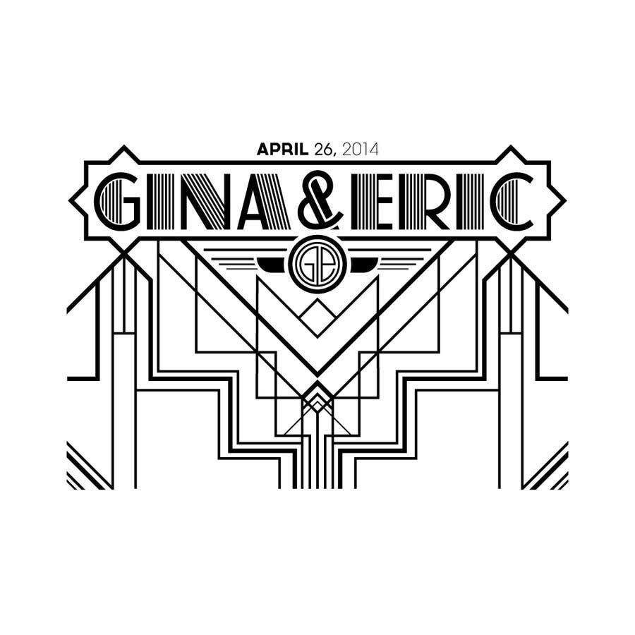 #25 for Design a Logo for a wedding by slmbrt