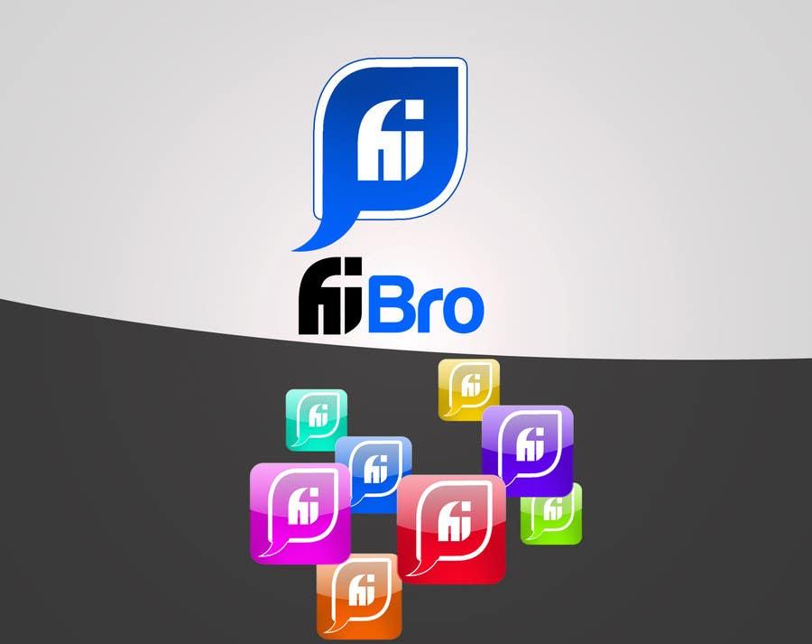 Penyertaan Peraduan #196 untuk Design a logo for iPhone App
