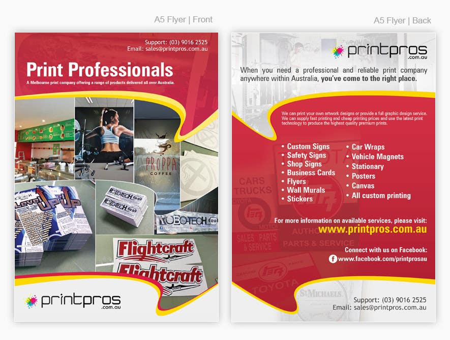 #20 for Design a Flyer for marketing by pris
