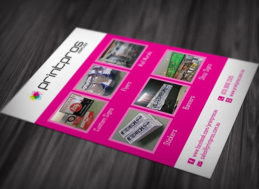 #2 for Design a Flyer for marketing by SerMigo