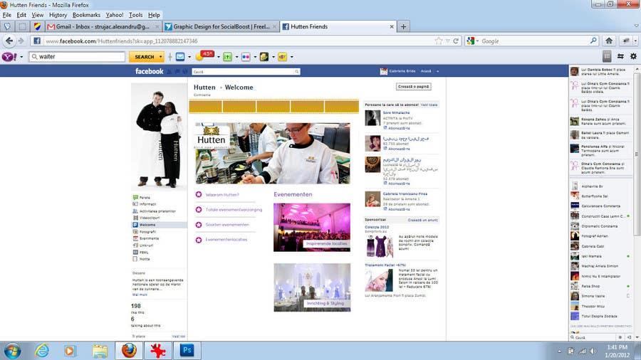 Inscrição nº 15 do Concurso para Graphic Design for SocialBoost