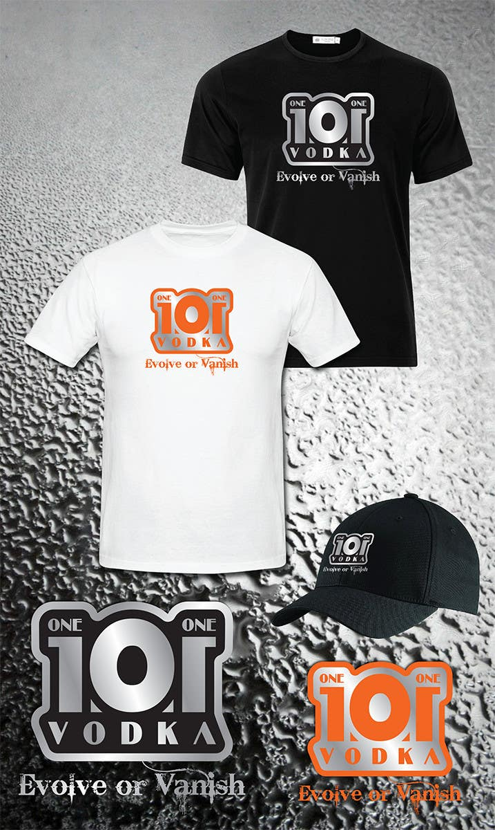 #10 for Design a T-Shirt for 1.0.1 Vodka by IIDoberManII