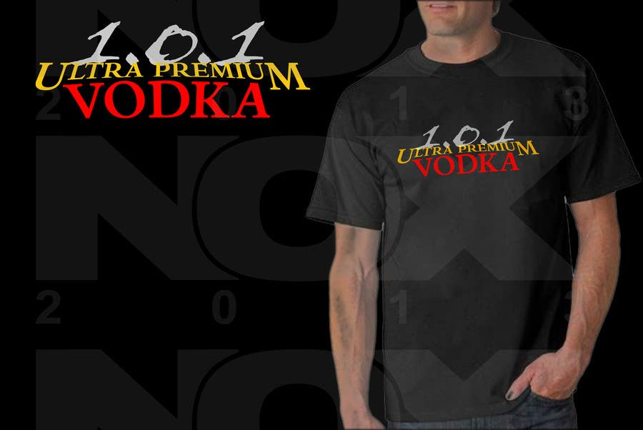 #16 for Design a T-Shirt for 1.0.1 Vodka by ghenox