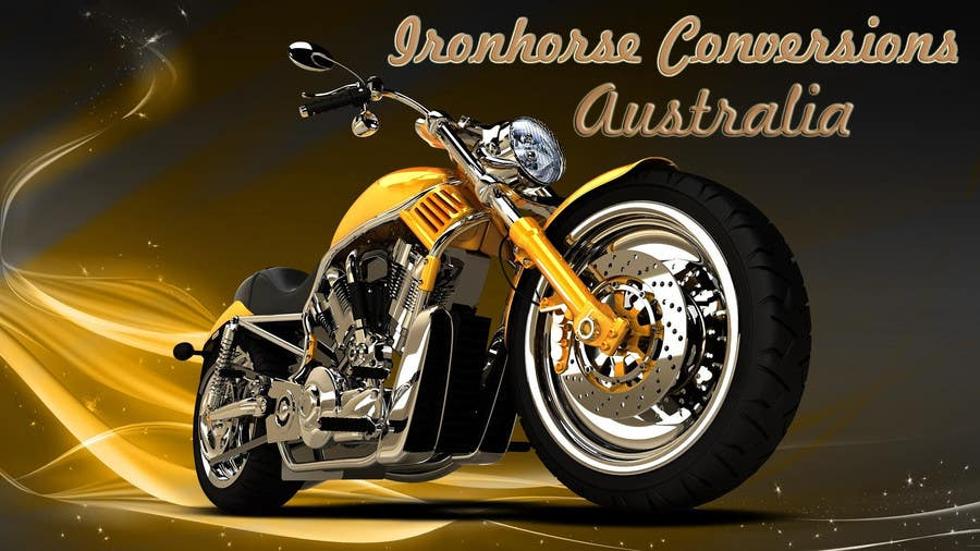 Kilpailutyö #14 kilpailussa Design a Banner for website (motorcycle custom chopper site)