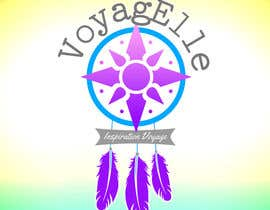 #9 for Design a Logo - Travel Blog - VoyagElle by pearlmysty7