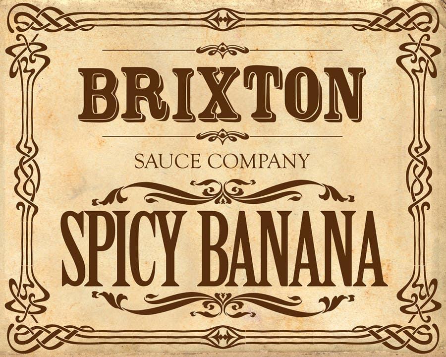 Inscrição nº 120 do Concurso para Design a Logo for a new Sauce / Condiment bottle