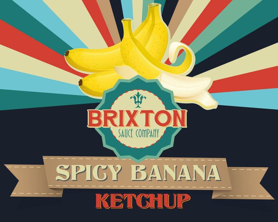 Inscrição nº 55 do Concurso para Design a Logo for a new Sauce / Condiment bottle