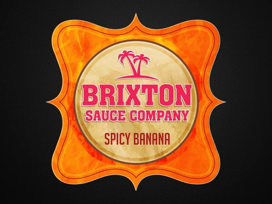 Bài tham dự cuộc thi #123 cho Design a Logo for a new Sauce / Condiment bottle