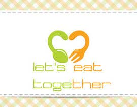 vivekshahweb tarafından Design a Logo for LetsEatTogether.co.uk için no 23