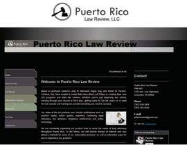 #17 para Design a Logo for Puerto Rico Law Review, LLC por woow7