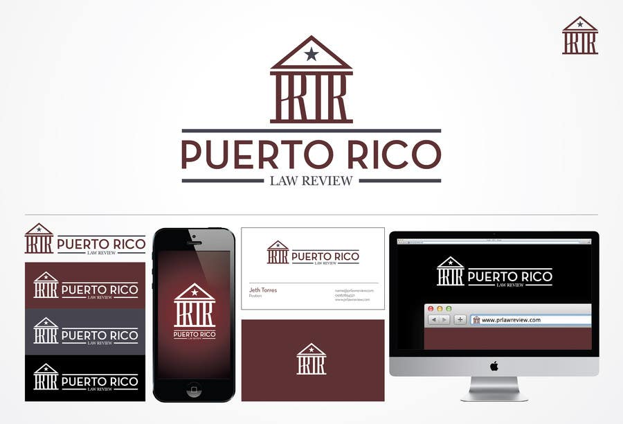 Penyertaan Peraduan #74 untuk Design a Logo for Puerto Rico Law Review, LLC