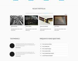 #28 for Design a landing page by subhanxmera