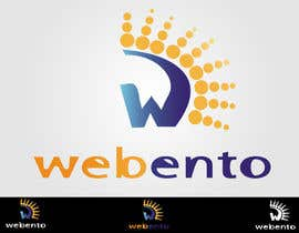 #247 for Logo Design for Webento by shakz07