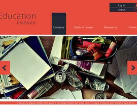 #3 para Create a website for a student orientation company / 51europe.org por webcloud9