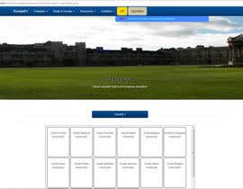 nº 7 pour Create a website for a student orientation company / 51europe.org par javionics