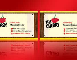 #16 untuk Design some Business Cards for The Cherry oleh linokvarghese