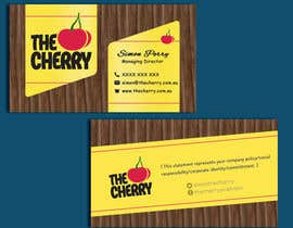 #61 untuk Design some Business Cards for The Cherry oleh CabbNetic