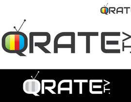 nº 9 pour Design a Logo for QRATE.TV par umamaheswararao3