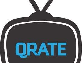#40 para Design a Logo for QRATE.TV por RuchiInfotechLtd
