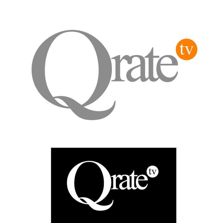 Inscrição nº 78 do Concurso para Design a Logo for QRATE.TV