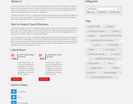 Nro 2 kilpailuun Web Site Design for Importing Products käyttäjältä Webicules