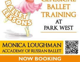 nº 17 pour Design flyer for ballet school par samazran