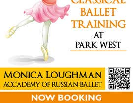 nº 18 pour Design flyer for ballet school par samazran